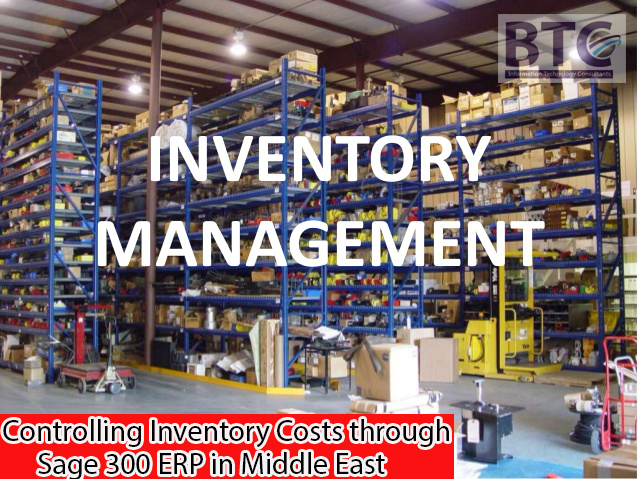Controlling Inventory Costs Through Sage 300 ERP In Middle East